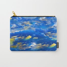 CLOUDS ABSTRACT Carry-All Pouch