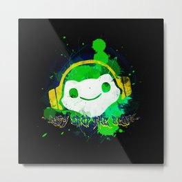 Let's drop the beat! Metal Print
