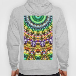 Colorful 3D Abstract Sun Hoody