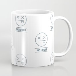 no lifer emoji face Coffee Mug