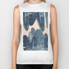 Banana Leaves - Cali Vibes #4 #tropical #decor #art #society6 Biker Tank