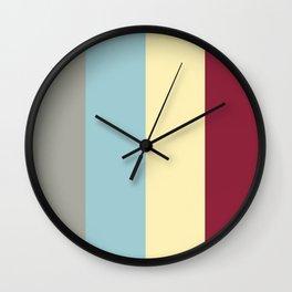 Color Ensemble No. 3 Wall Clock