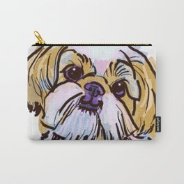 The Shih Tzu always keeps me smiling! Carry-All Pouch