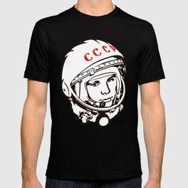 Yuri Gagarin astronaut, cosmonaut, pilot, CCCP, URSS, The first human in space T-shirt