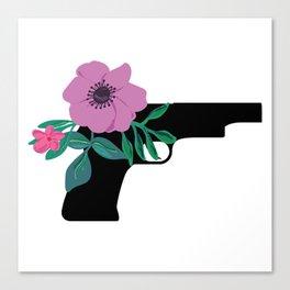Pistol Beauty Canvas Print