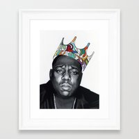 notorious big Framed Art Prints featuring Notorious by Jared Yamahata