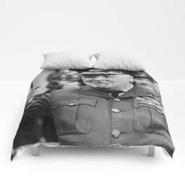 Winston Churchill Smoking Comforters