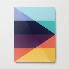 Colorful pattern XVIII Metal Print