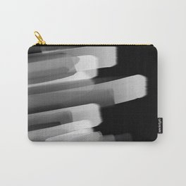 Stairs of Light - Black and White Carry-All Pouch