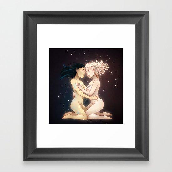 Duality Framed Art Print