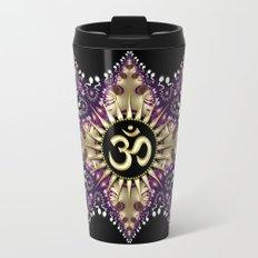 Golden Berry Om Sunshine Travel Mug
