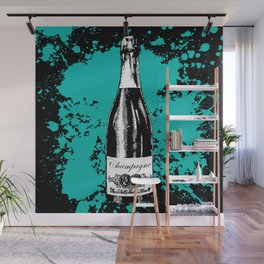 Champagne Explosion Wall Mural