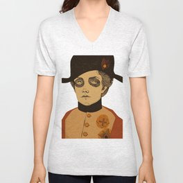 An Officer and a Lady Unisex V-Neck
