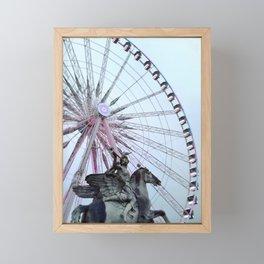 Paris Street Style No. 5 Framed Mini Art Print