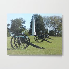 Ready and Waiting Metal Print