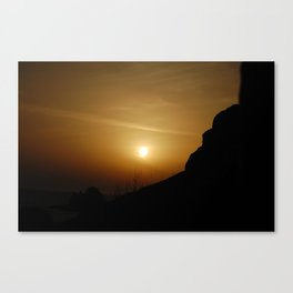 Deep Sunset Canvas Print