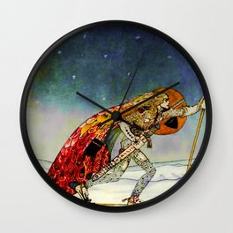 "Kay Nielsen Fairy Tale Art from ""East of the Sun"" Wall Clock"