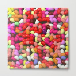 Funny Jelly Mix 1 Metal Print