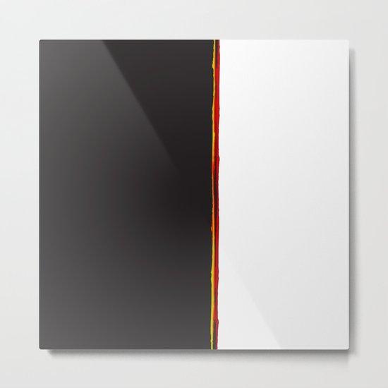 No Traveler Returns Abstract Print Metal Print