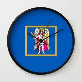 Flag of Kiev Wall Clock