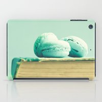 macaroons iPad Cases featuring Mint Macaroons  by Caroline Mint