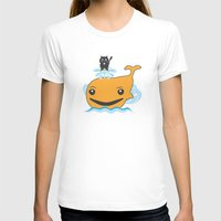 surfing T-shirts featuring Surfing by Hagu