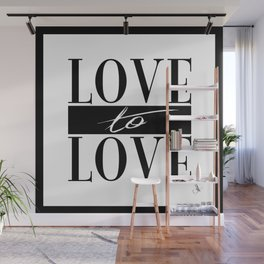 Love to Love Wall Mural