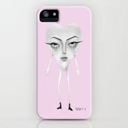 Sad Heart iPhone Case