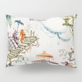 Enchanted Forest Chinoiserie Pillow Sham