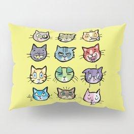 cat faces Pillow Sham