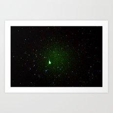 space noise. Art Print