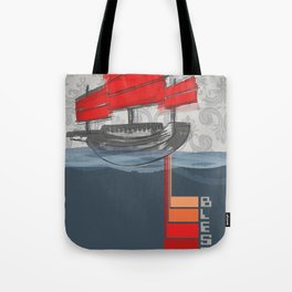 Poster Project   Bless Ship Tote Bag
