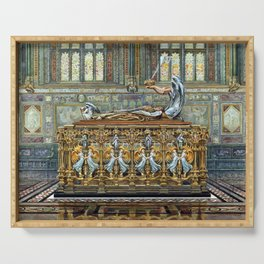 Arthur Robertson Tomb of the Duke of Clarence Serving Tray