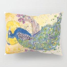 Peacock in the Sun Pillow Sham