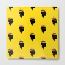 The Maestro - Yellow Metal Print
