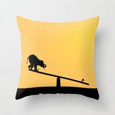 SeeSaw Throw Pillow