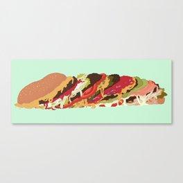 Burgers! Canvas Print