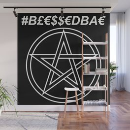 TRULY #BLESSEDBAE Wall Mural