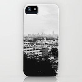 Kuala Lumpur Overlook iPhone Case