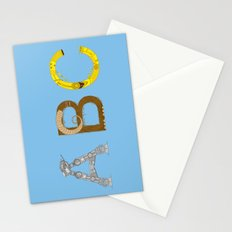 mAY BEE SEE be with you! (blue) Stationery Cards