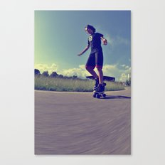 Roller  Canvas Print