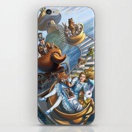 Steampunk Alice in Wonderland Teacups iPhone Skin