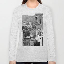 Trarbach as seen from Traben Long Sleeve T-shirt