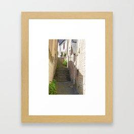 Stairway in France Framed Art Print