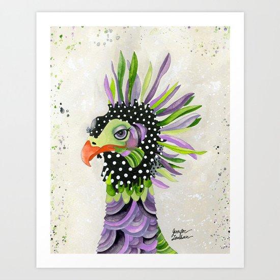 Secretary Rhea  Art Print