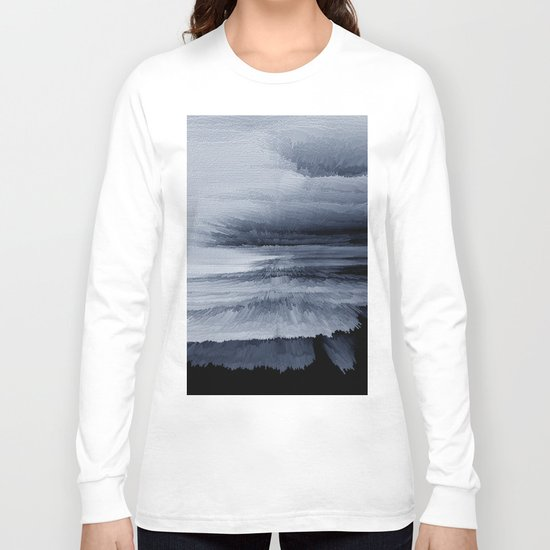 Abstract black painting 2 Long Sleeve T-shirt