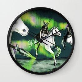 Valkyries Wall Clock