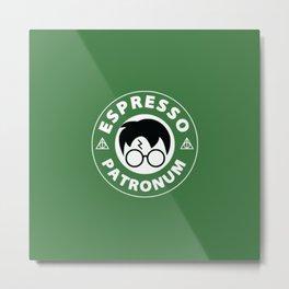 Espresso Patronum green Metal Print