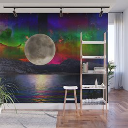 You Are My Moon Wall Mural