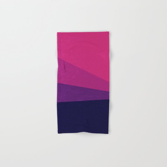 Stripe VII Ultraviolet Hand & Bath Towel